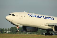 Amsterdam, Pays-Bas - 1er juin 2017 : TC-JOV Turkish Airlines Images stock