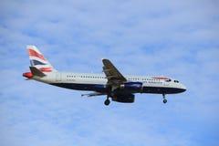Amsterdam, Pays-Bas, juillet, 2016 15ème : G-EUYG British Airways Airbus A320 Photo stock
