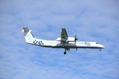 Amsterdam, Pays-Bas, juillet, 2016 15ème : G-JECK Flybe de Havilland Photographie stock libre de droits