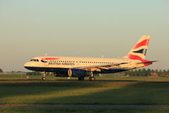 Amsterdam, Pays-Bas - 2 juin 2017 : G-DBCG British Airways Photos stock