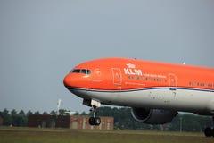 Amsterdam, Pays-Bas - 2 juin 2017 : Lignes aériennes de PH-BVA KLM Royal Dutch Photos libres de droits