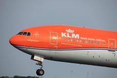 Amsterdam, Pays-Bas - 2 juin 2017 : Lignes aériennes de PH-BVA KLM Royal Dutch Images libres de droits