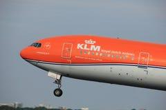 Amsterdam, Pays-Bas - 2 juin 2017 : Lignes aériennes de PH-BVA KLM Royal Dutch Photo libre de droits