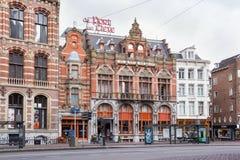 AMSTERDAM, PAYS-BAS - 25 JUIN 2017 : Vue du bâtiment historique de l'hôtel de Port van Cleve de matrice au centre d'Amsterdam photographie stock