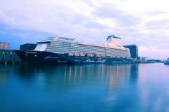 Amsterdam, Pays-Bas - 11 mai 2017 : Mein Schiff 3 TUI Cruises photographie stock