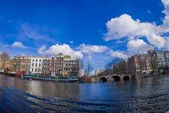 AMSTERDAM, PAYS-BAS, MARS, 10 2018 : Extérieur de théâtre royal, le théâtre officiel d'Amsterdam, à Amsterdam Photographie stock