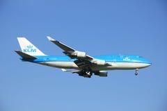 Amsterdam, Pays-Bas, peut 2016 6ème : PH-BFF KLM Royal Dutch Image libre de droits