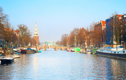 Amsterdam picturesque Stock Photo