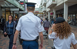 Amsterdam police Royalty Free Stock Image