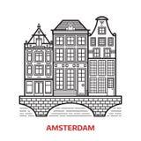 Amsterdam punktu zwrotnego ikona Obrazy Stock