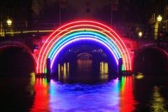 Amsterdam Rainbow Royalty Free Stock Photo