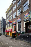Amsterdam Red Light District Stock Photos