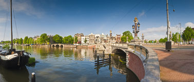 Amsterdam reflections, Holland Royalty Free Stock Photo