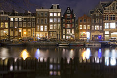 Amsterdam Reflections Royalty Free Stock Photo