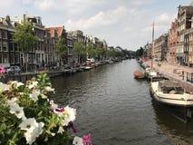 Amsterdam reflexioner Arkivbilder