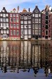 Amsterdam reflexioner royaltyfri bild