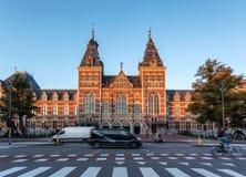 Amsterdam Rijks museum Holland arkivfoton