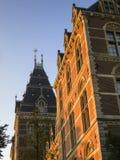 amsterdam rijksmuseum royaltyfri fotografi