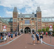 Amsterdam Rijksmuseum Image stock