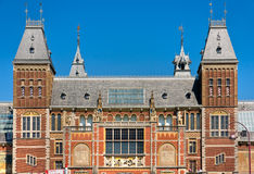 Amsterdam, Rijksmuseum. Royalty Free Stock Images