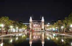 amsterdam rijksmuseum Zdjęcia Royalty Free