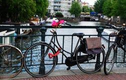 amsterdam rowerów obrazy stock