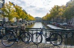 amsterdam rowerów Zdjęcie Stock