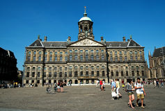 Amsterdam Royal palace Stock Images