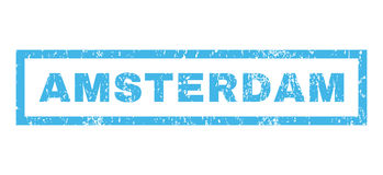 Amsterdam Rubber Stamp Stock Photos