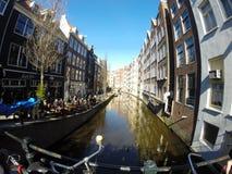 Amsterdam rzeka Zdjęcie Stock