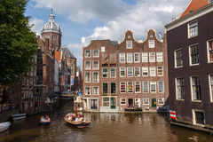 Amsterdam's canals Royalty Free Stock Photos