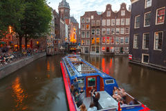 Amsterdam's canals Stock Image