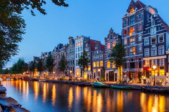 Amsterdam's canals. Stock Image