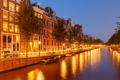 Amsterdam's canals. Royalty Free Stock Photo