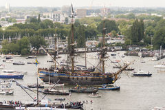 Amsterdam SAIL2015 event Royalty Free Stock Photo
