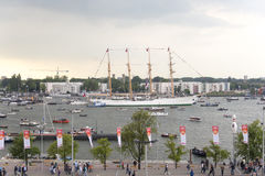Amsterdam SAIL2015 event Stock Photography