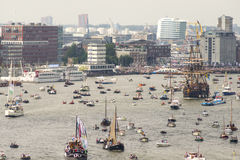 Amsterdam SAIL2015 event Stock Images