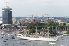 Amsterdam SAIL2015 event Royalty Free Stock Photography
