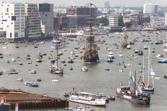 Amsterdam SAIL2015 event Royalty Free Stock Photos