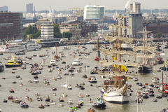 Amsterdam SAIL2015 event Royalty Free Stock Images