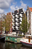 Amsterdam. Scene in the old town of amsterdam, netherlands Stock Photos