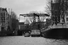 Amsterdam sceneria obrazy stock