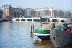 Amsterdam scenic Royalty Free Stock Photo