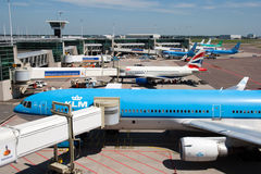 Amsterdam Schiphol Royalty Free Stock Photography