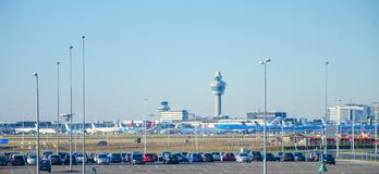 Amsterdam Schiphol Aiport Photographie stock