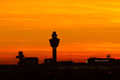 Amsterdam Schiphol Royalty Free Stock Image