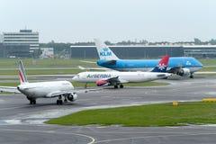 Amsterdam Schiphol international airport Royalty Free Stock Photo
