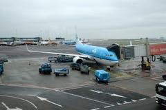 Amsterdam Schiphol international airport Stock Photos
