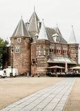 Amsterdam-Schloss Stockfotografie
