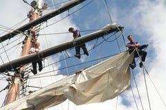 amsterdam seglar Fotografering för Bildbyråer